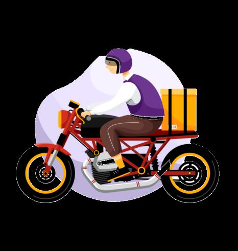 moto mensajeria